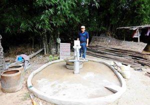 Cambodia Sponsoring Water Pump Self