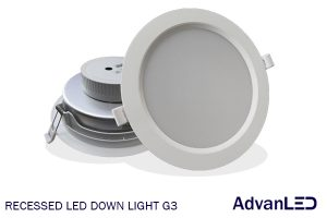 recessed LED downlight G3