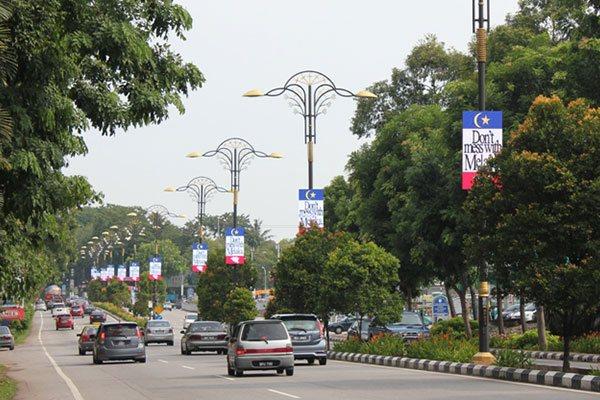 LED BUNTING @ MELAKA, MALAYSIA