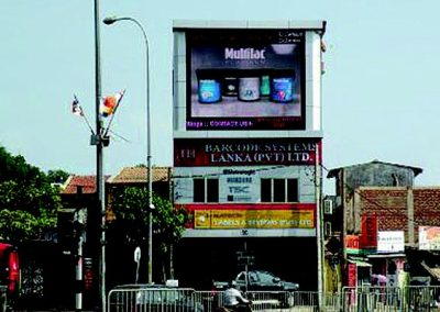 ADVERTISING SCREEN @ SRI LANKA