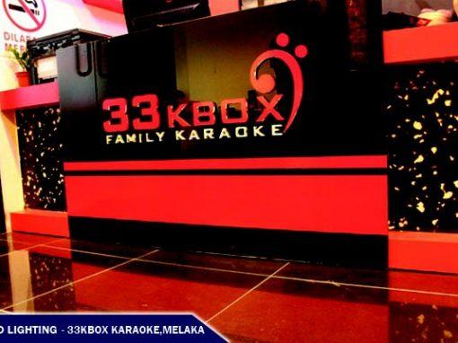 LED LIGHTING @33KBOX FAMILY KARAOKE