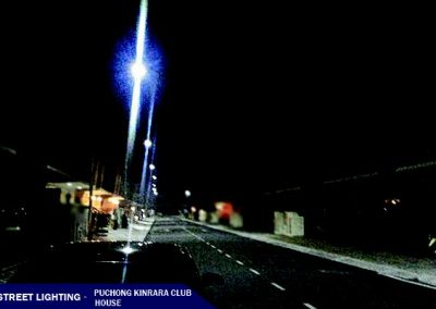 LED STREET LIGHT @PUCHONG KINRARA CLUB HOUSE