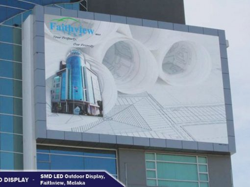 FIRST SMD LED OUTDOOR DISPLAY IN MALAYSIA