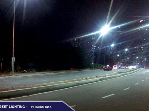 LED STREET LIGHTING @ PETALING JAYA