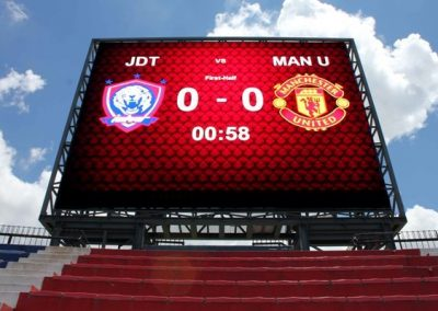 LED SCOREBOARD @ STADIUM LARKIN
