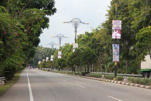 Led Bunting Lights @ Melaka Malaysia
