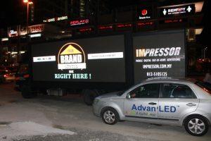 LED Truck Display @ Klang Valley