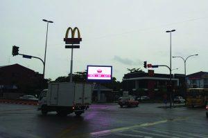 LED Billboard @ Pontian Johor