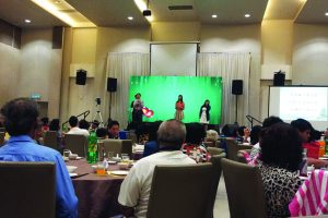 Indoor Rental Screen @ LTP Restaurant, Melaka