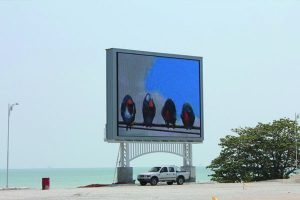 LED Screen Board at Kolej Tentera Darat