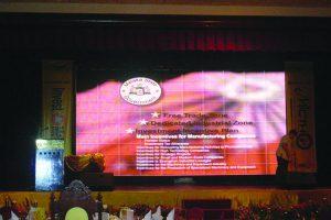 Indoor Screen For Industry Excellence Awards in Melaka