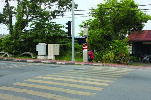 LED Lighting Tiang Pedestrian 1M Project
