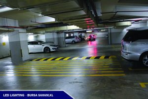 LED Lighting in Bursa Saham