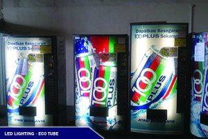 LED Eco Tube Vending Machine