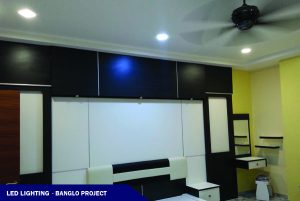 LED Lighting in a Banglow