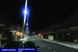 LED Street Light in Puchong Kinrara Club