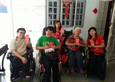 CNY ANG POW FOR THE POOR FAMILY