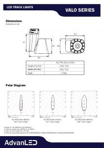 Valo Series Track Light