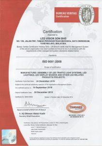 ISO 9001:2008 (Traffic Light)