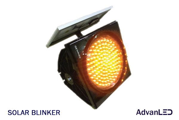 SOLAR AMBER BLINKER