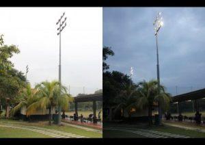 LED High Mast cyberjaya community club