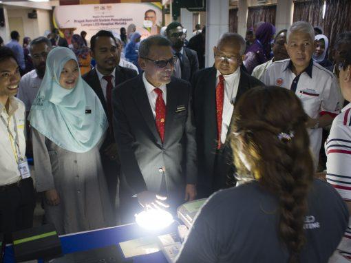 MAJLIS PERASMIAN PROJEK RETROFIT SISTEM PENCAHAYAAN LAMPU LED HOSPITAL, MELAKA