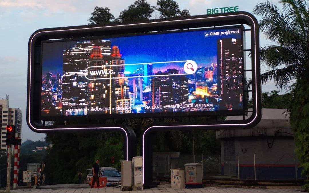 BIGTREE OUTDOOR LED DISPLAY – CUBIG, BANGSAR