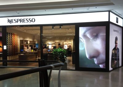 NESPRESSO BOUTIQUE THE GARDEN MALL – INDOOR LED DISPLAY