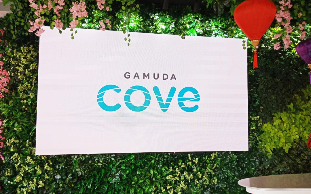 GAMUDA COVE EXPERIENCE GALLERY -INDOOR LED DISPLAY