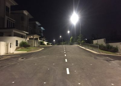 TAMAN SUNGAI BESI INDAH – LED STREET LIGHT