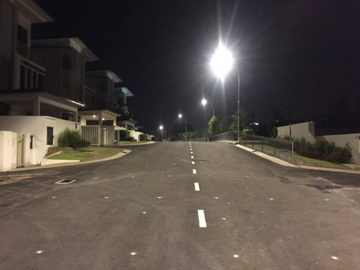 TAMAN SUNGAI BESI INDAH – LED STREET LIGHT