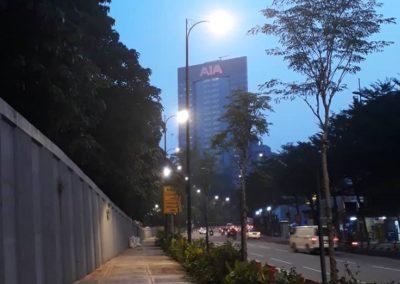 JALAN AMPANG, DBKL – LED STREET LIGHT