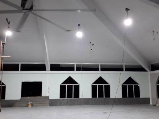 MASJID KAMPUNG GANGSA – LED LIGHTING