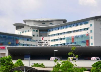 HOSPITAL SUNGAI BULOH, SELANGOR – LED LIGHTING