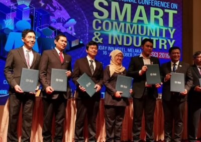 INTERNATIONAL CONFERENCE ON SMART COMMUNITY & INDUSTRY 2019
