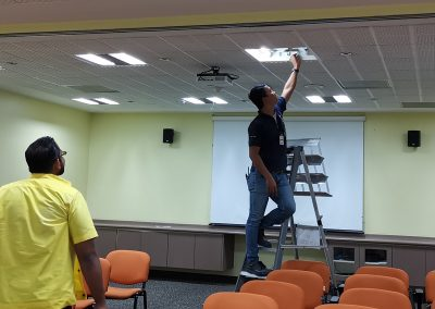 RETROFIT LAMPU LED DI  HOSPITAL PERMAI, JOHOR -LED LIGHTING