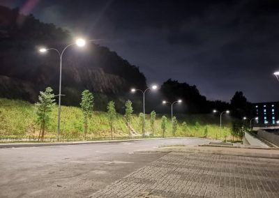 LED SMART STREET LIGHT – LIBERTY ARC UKAY RESIDENCE, AMPANG