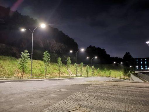 LED SMART STREET LIGHT – LIBERTY ARC UKAY RESIDENCE, AMPANG