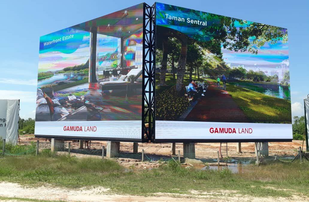 LED DISPLAY – GAMUDA LAND THE COVE