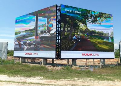 LED DISPLAY – GAMUDA LAND THE COVE
