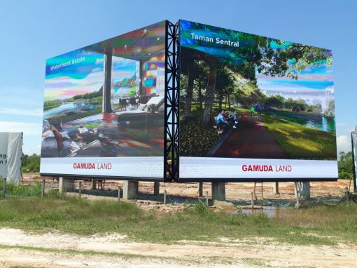 LED OUTDOOR DISPLAY – GAMUDA LAND THE COVE