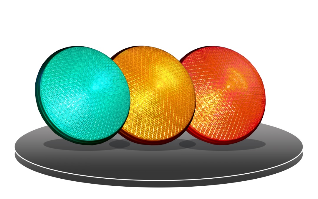 LED HI FLUX TRAFFIC LIGHT (FULL MOON)