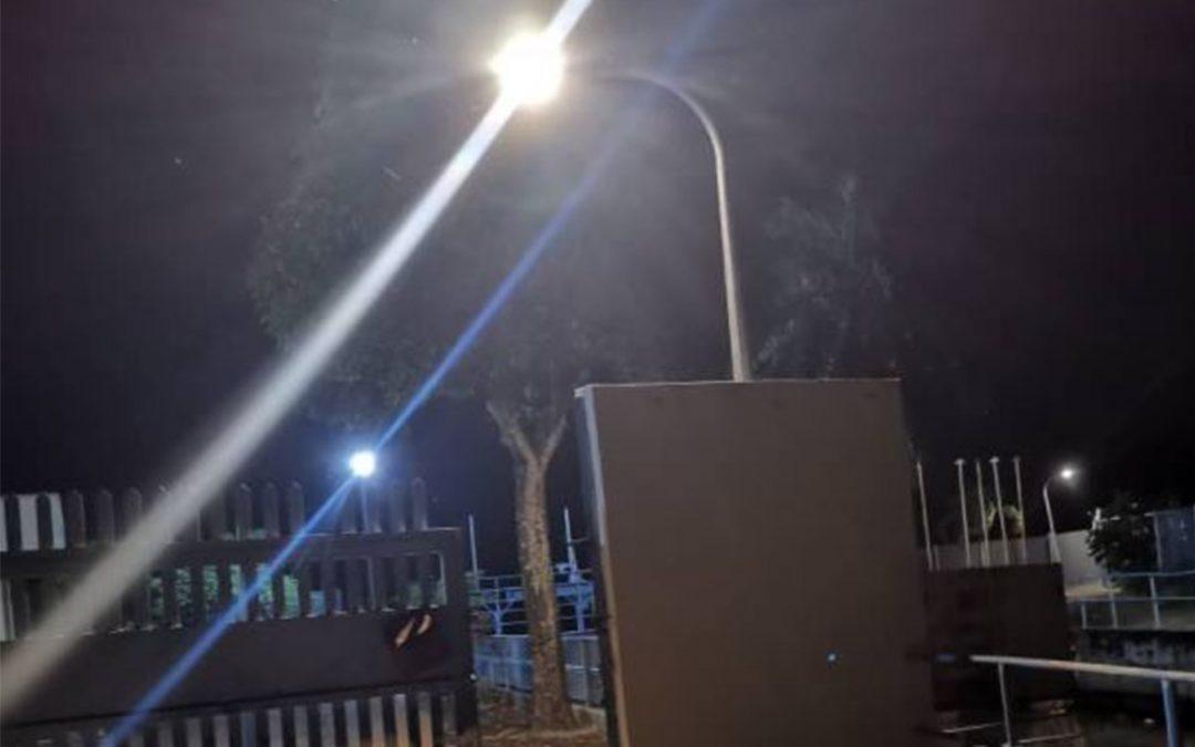 LED STREET LIGHT – JABATAN PENGALIRAN, SG PETANI, KEDAH