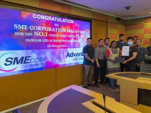 LED INDOOR DISPLAY – SME CORP. MALAYSIA
