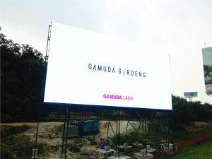 Gamuda Gardens LED Outdoor Billboard