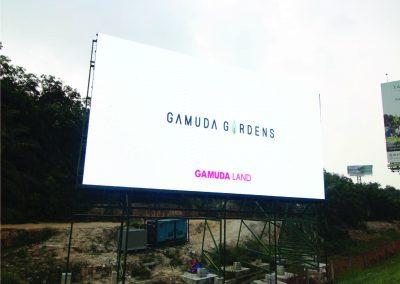 GAMUDA GARDENS LED BILLLBOARD