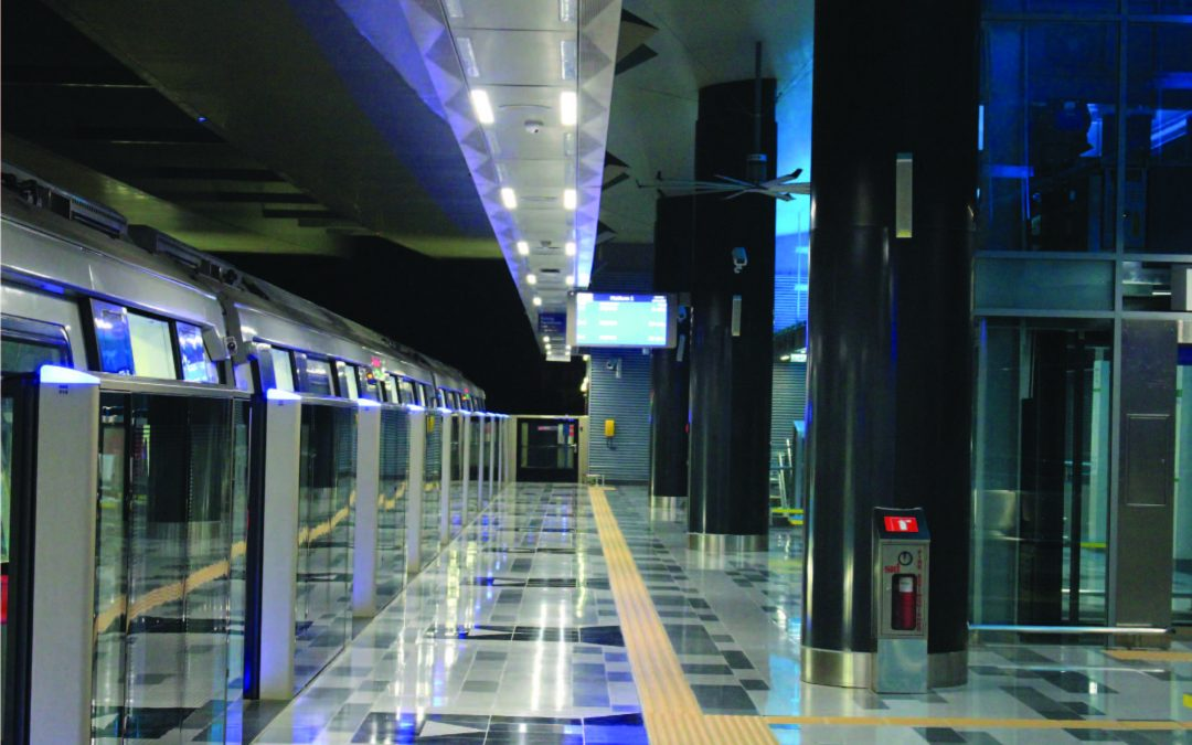 MRT STATION SBK LINE – LED LIGHTING