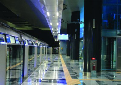 MRT STATION SBK LINE – LED LIGHTING
