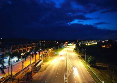 JALAN JEMALUANG, MERSING JOHOR – STREET LIGHT